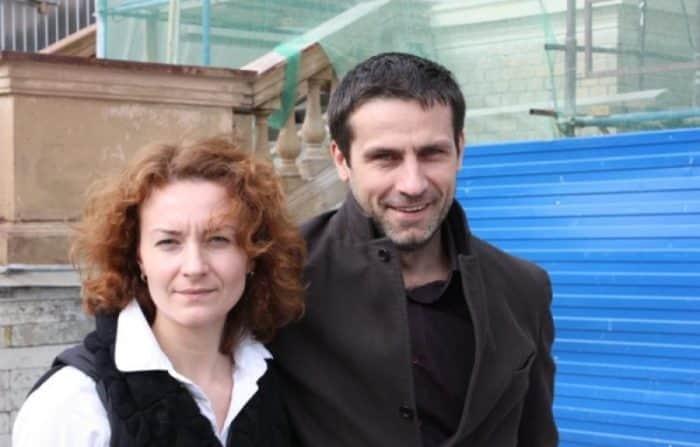 Анна Дюкова с мужем Ильей Шакуновым