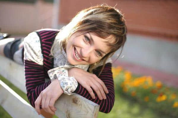 Виктория Булитко в юности