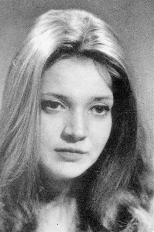 Анастасия Вознесенская в молодости