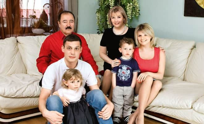Семья Тамары Акуловой