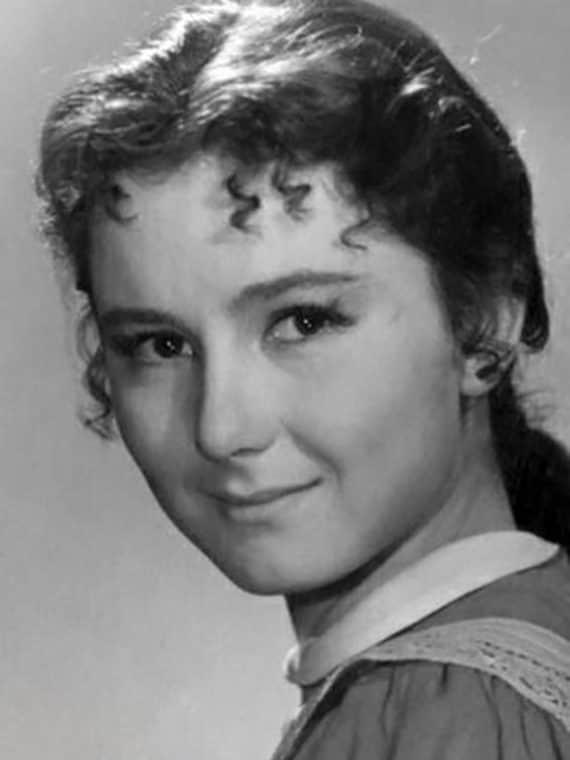 Татьяна Лаврова в детстве