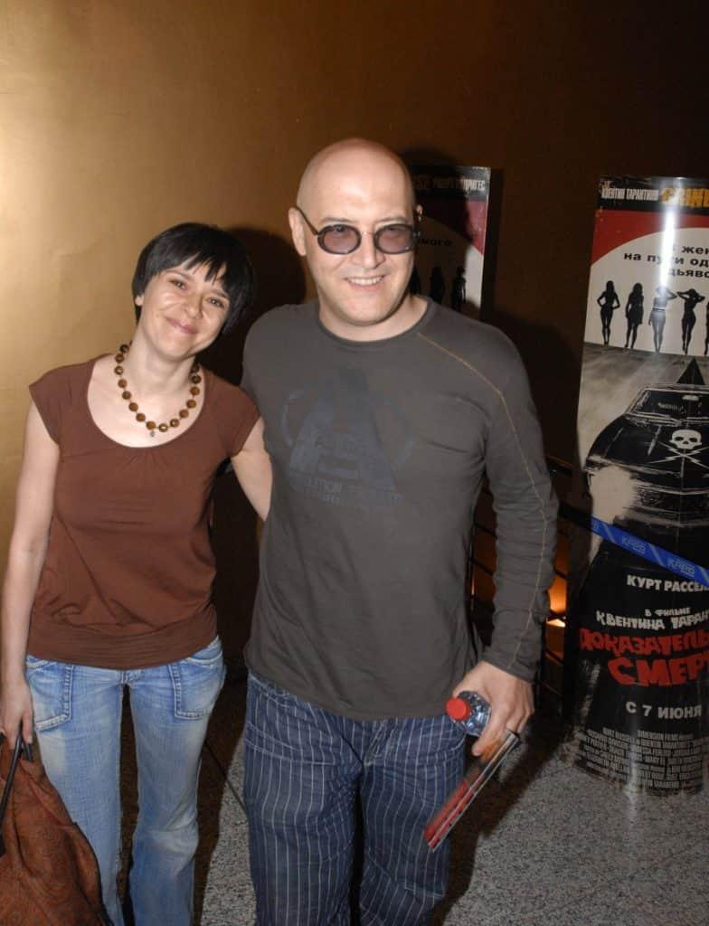 Максим Суханов с Ладой Марис