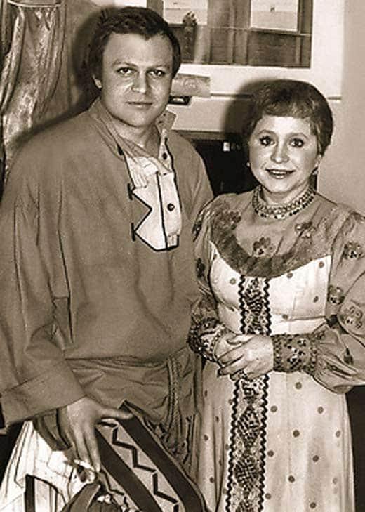 Людмила Гнилова с мужем Александром Соловьевым