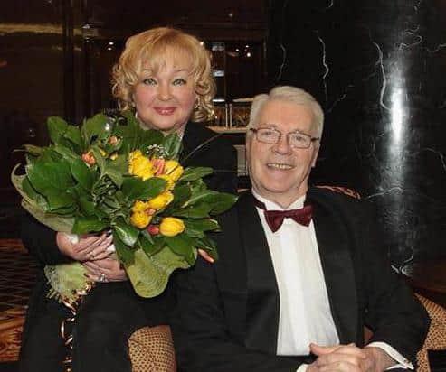 Евгений Жариков с женой