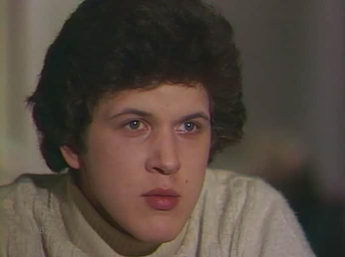 Игорь Нефедов в юности
