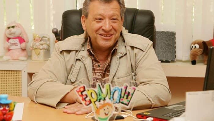 Борис Грачевский в студии Ералаш