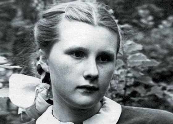 Людмила Иванова в юности