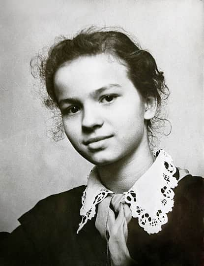Наталья Рычагова в детстве