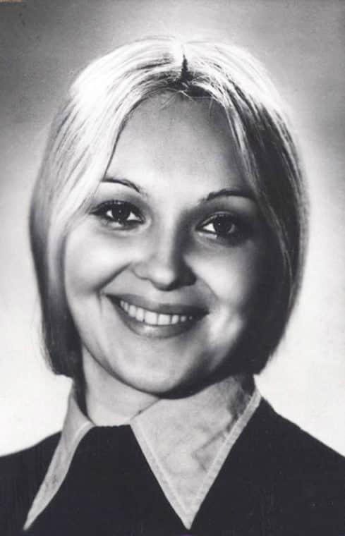 Наталья Гвоздикова в молодости