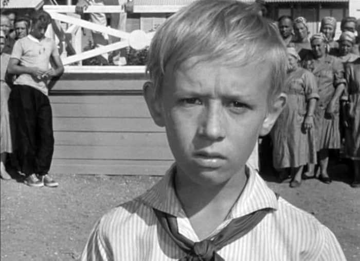 Виктор Косых в детстве