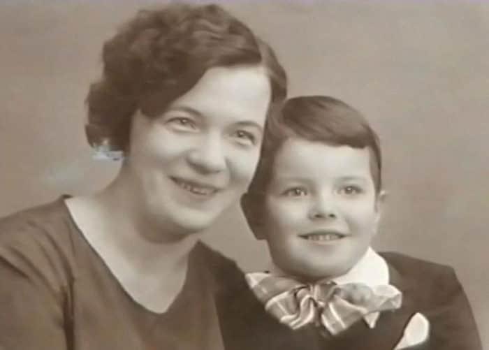 Вячеслав Шалевич с мамой