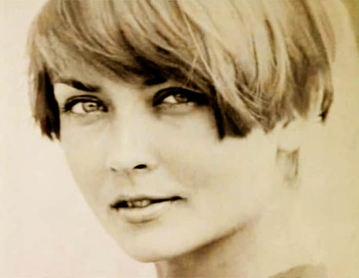 Жанна Болотова в юности
