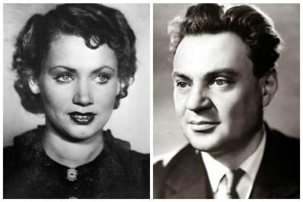Лидия Смирнова и ее муж