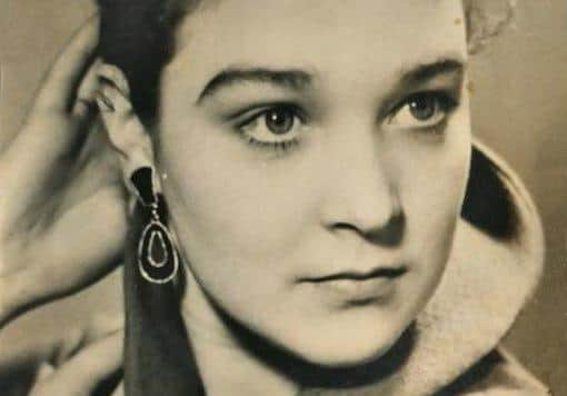 Александра Завьялова в юности