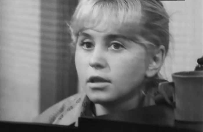 Людмила Гнилова в юности