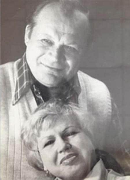 Петр Щербаков с женой Валентиной