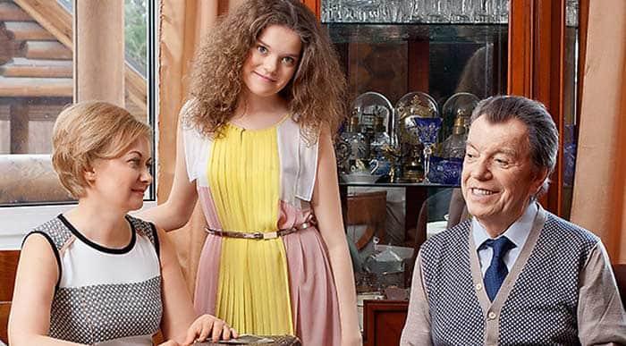 Вячеслав Шалевич с семьей