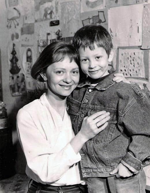 Татьяна Божок с сыном
