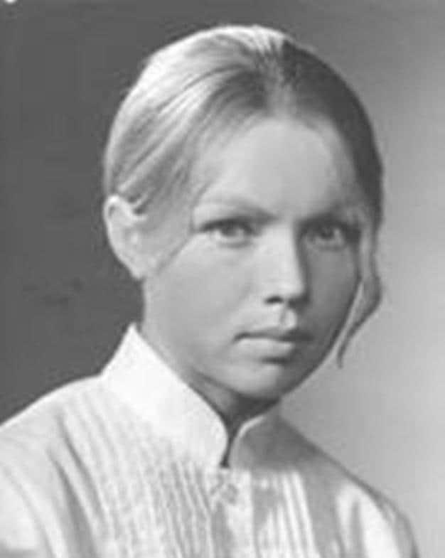 Валентина Теличкина в детстве