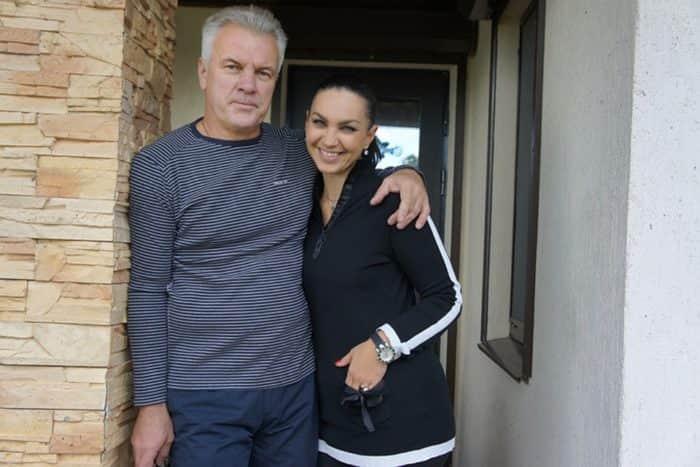Анатолий Котенев с женой