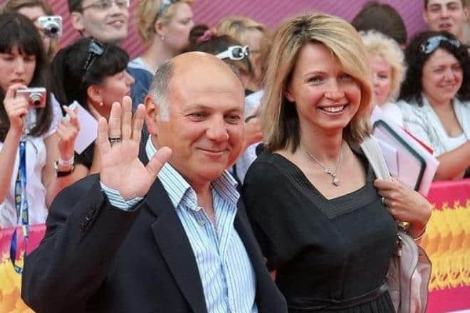 Сергей Газаров с женой