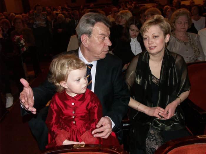 Вячеслав Шалевич с женой Татьяной и дочерью