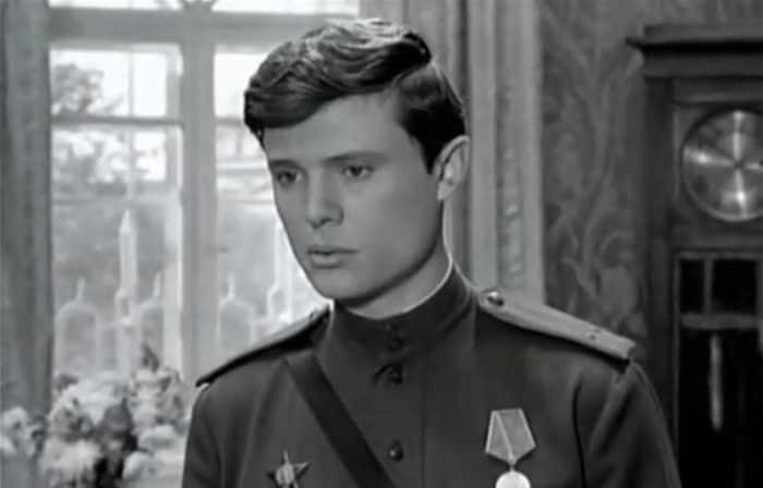 Борис Токарев в молодости