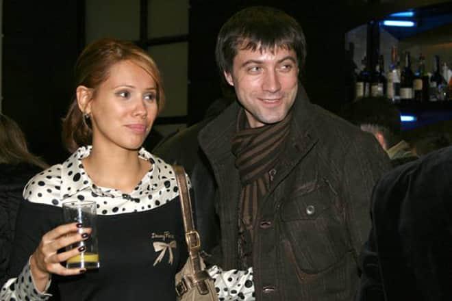 Виталий Емашов с женой