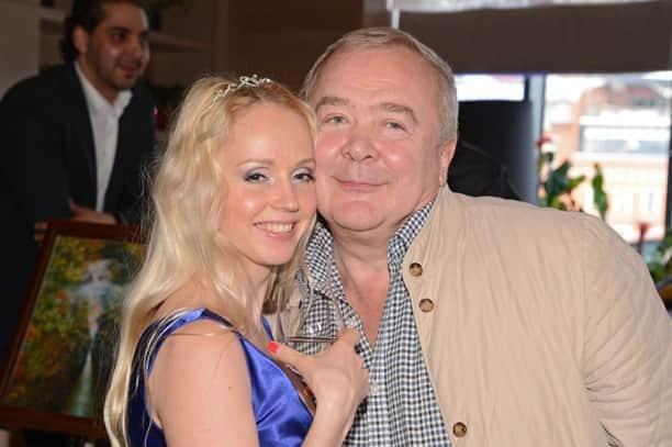 Сергей Проханов с женой