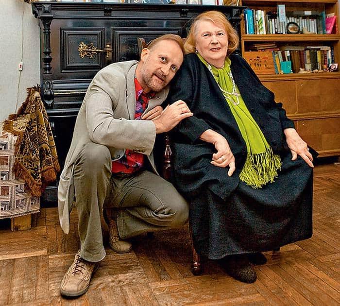 Людмила Иванова с сыном