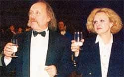 Светлана Пенкина с мужем Владимиром Мулявиным