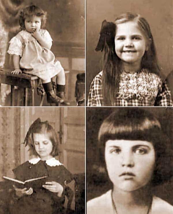 : Тамара Макарова в детстве