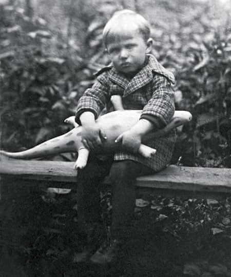 Вячеслав Невинный в детстве