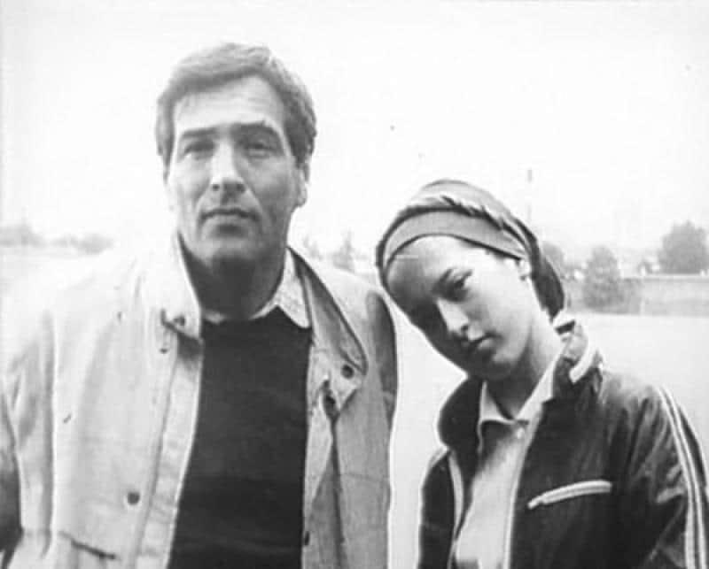 Юрий Васильев с дочерью