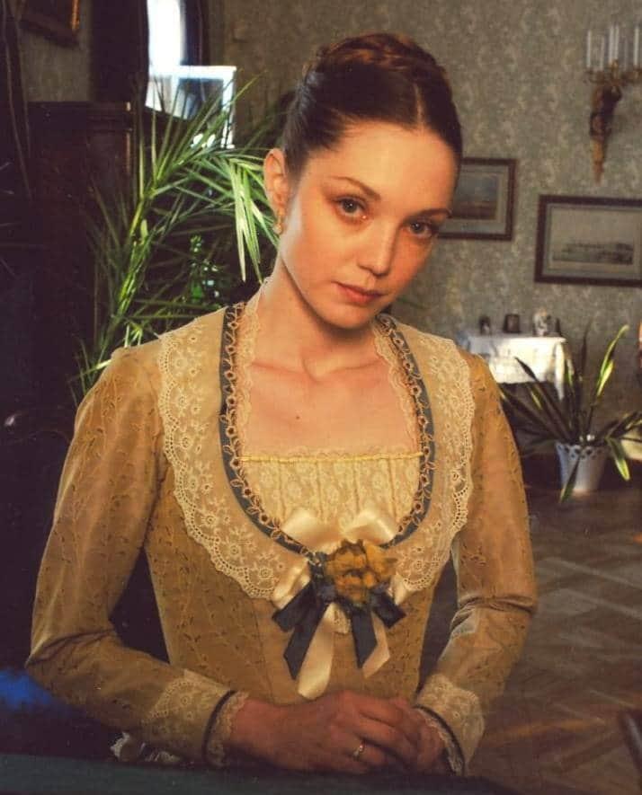 Мария Аниканова в юности