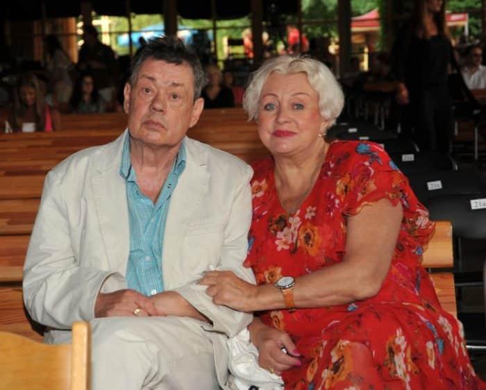 Людмила Поргина с мужем