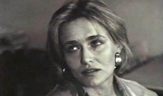 Елена Шевченко в юности