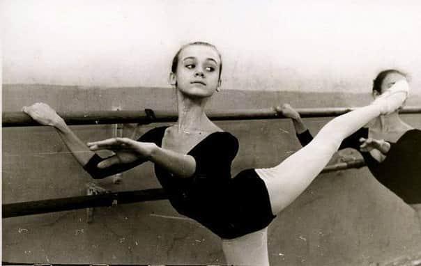 Ульяна Лопаткина в детстве
