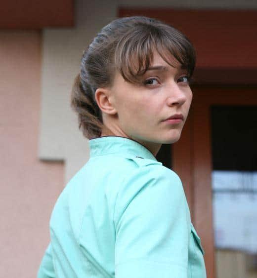 Юлия Маврина в юности