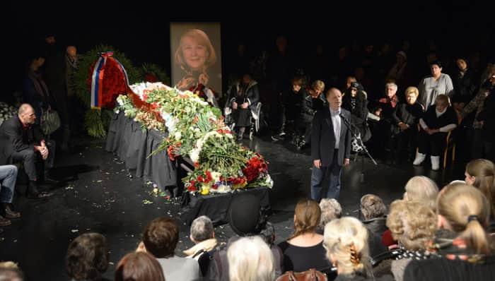 похороны Людмилы Ивановой