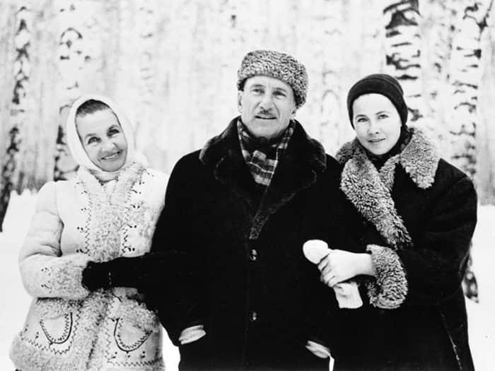 Тамара Макарова с мужем
