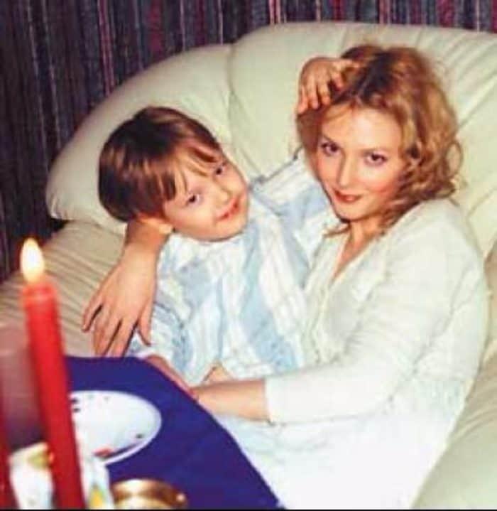 Ольга Понизова в с сыном Никитой