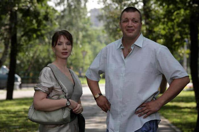 Дарья Юрская и Алексей Лебедев