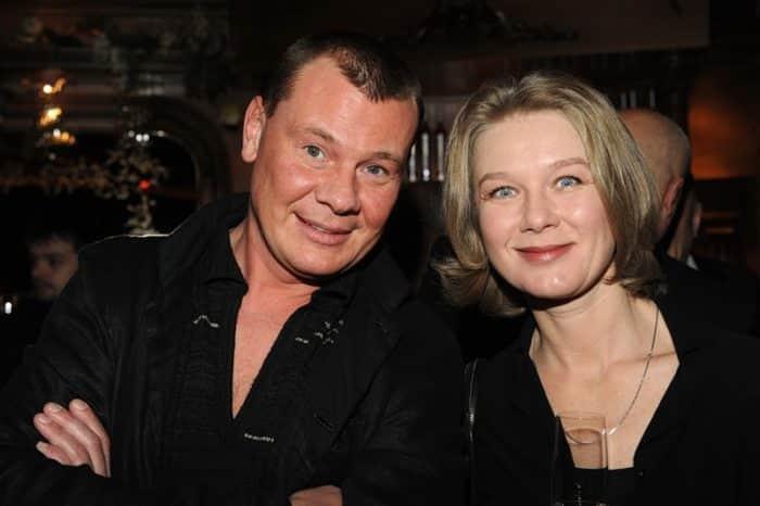Дарья Михайлова с мужем Владиславом Галкиным