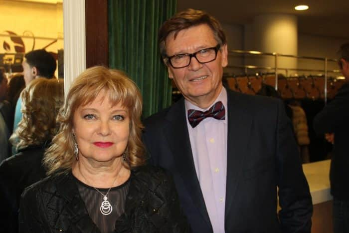 Борис Токарев с женой