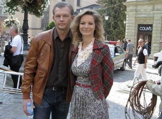 Алексей Фатеев с Александрой Флоринской