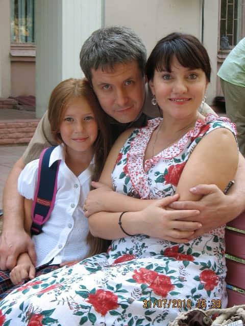 Александр Макогон с семьей