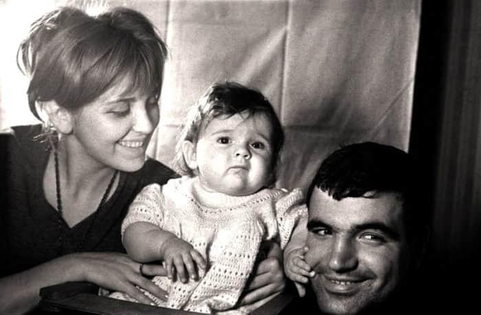 Инна Гулая с мужем и детьми