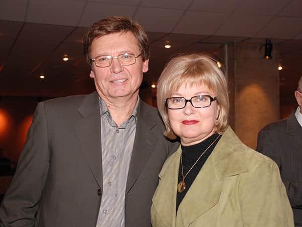 Людмила Гладунко с мужем