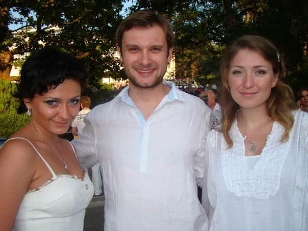 Владимир Фекленко с семьей